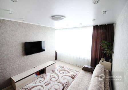 Продаётся 1-комнатная квартира, 46.2 м²