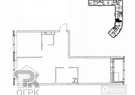 Продаётся 2-комнатная квартира, 68.2 м²