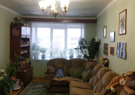Продаётся 3-комнатная квартира, 62.2 м²