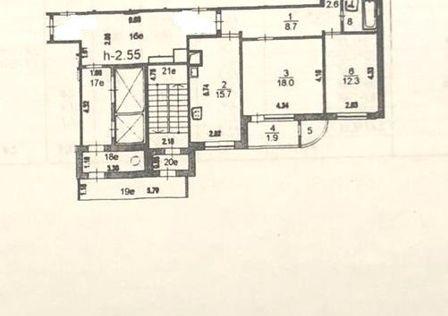 Продаётся 3-комнатная квартира, 74.1 м²