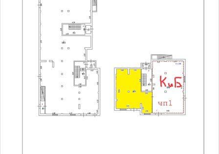 Продаётся помещение своб. назначения, 90 м²