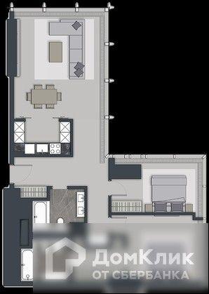 Продаётся 3-комнатная квартира, 113.1 м²