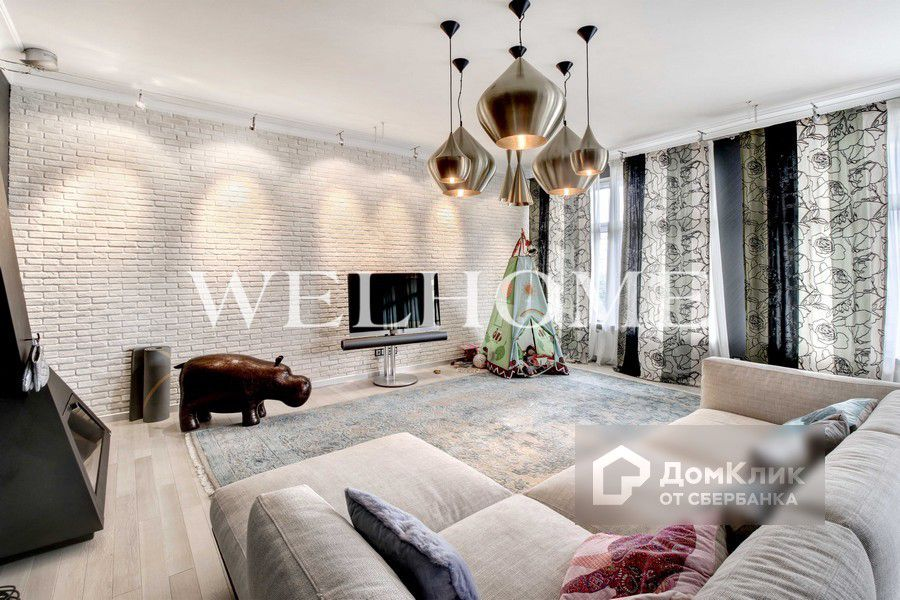 Продаётся 4-комнатная квартира, 166.1 м²