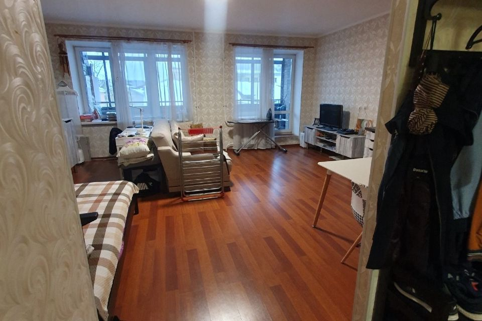 Продаётся 1-комнатная квартира, 44.4 м²